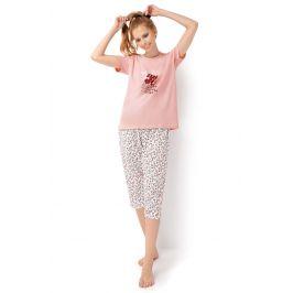 Dámské pyžamo Bloom  růžová