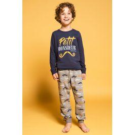 Chlapecké pyžamo Petit Monsieur  modrá