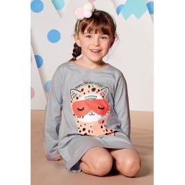 Dívčí noční košile Dodo Chat  světlemodrá