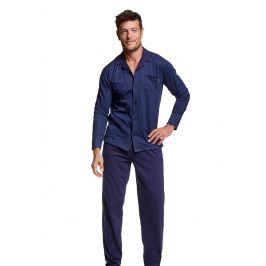 Luxusní pánské pyžamo Vide  nám.modrá
