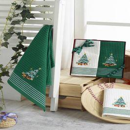 Dárkový set Christmas Trees 40x60 cm Set