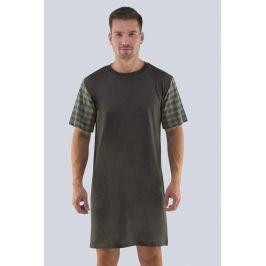Pánská noční košile Richard  tmavěšedá
