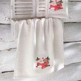 Ručník Santa 40x60 cm ecru