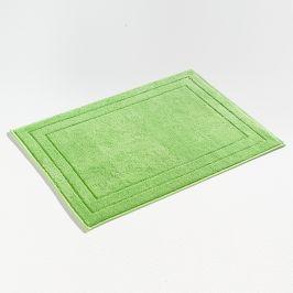 Koupelnová předložka Jasmina zelená 50x70 cm bavlna