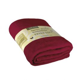 Deka Extra Soft červená 140x200 cm hnědá