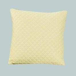 Povlak na polštářek Diamond béžový 40x40 cm polyester