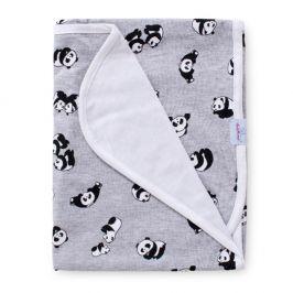 Dětská bambusová deka Panda 75x100 cm bambusové