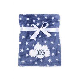 Dětská deka Ricco Big dream dětská deka modrá