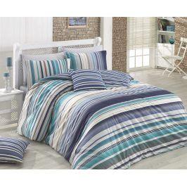 Povlečení Marino modré 140x200 jednolůžko - standard bavlna