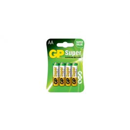 Tescoma alkalická tužková baterie GP Super AA, 4 ks