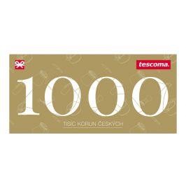 Tescoma dárkový poukaz 1000 Kč