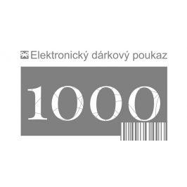Tescoma dárkový poukaz 1000 Kč elektronický