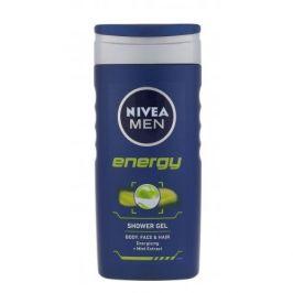 Nivea Men Energy 250 ml sprchový gel na tělo, tvář a vlasy pro muže