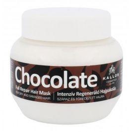 Kallos Cosmetics Chocolate 275 ml maska pro suché a poškozené vlasy pro ženy