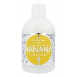 Kallos Cosmetics Banana 1000 ml hydratační šampon pro suché vlasy pro ženy