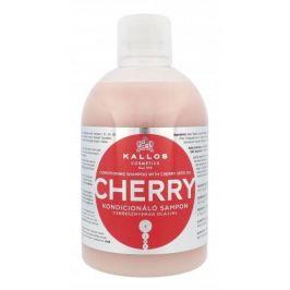 Kallos Cosmetics Cherry 1000 ml hydratační šampon pro suché vlasy pro ženy