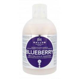 Kallos Cosmetics Blueberry 1000 ml regenerační šampon pro suché a poškozené vlasy pro ženy