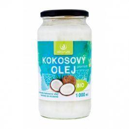 Allnature Premium Bio Coconut Oil 1000 ml kokosový olej pro kvalitní výživu a regeneraci unisex