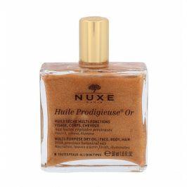 NUXE Huile Prodigieuse Or Multi-Purpose Shimmering Dry Oil 50 ml multifunkční suchý olej se třpytkami na obličej, tělo a vlasy pro ženy