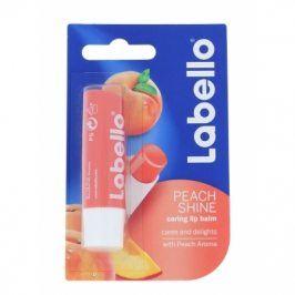 Labello Peach Shine 5,5 ml balzám na rty pro ženy