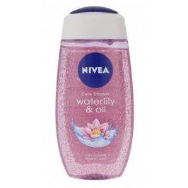 Nivea Waterlily & Oil 250 ml sprchový gel pro hebkou pokožku pro ženy