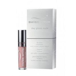 swiss smile Day Gloss Nude 3,5 ml lesk pro opticky plnější vzhled rtů pro ženy