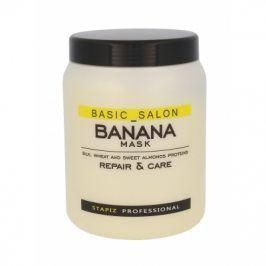 Stapiz Basic Salon Banana Mask 1000 ml maska pro poškozené vlasy pro ženy