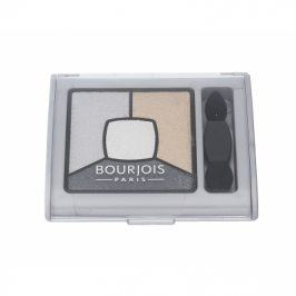 BOURJOIS Paris Smoky Stories Quad Eyeshadow Palette 3,2 g oční stín pro ženy 09 Grey-zy In Love