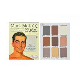 TheBalm Meet Matt(e) Nude Eyeshadow Palette 25,5 g oční stín pro ženy