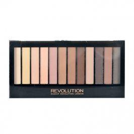 Makeup Revolution London Redemption Palette Essential Mattes 2 14 g oční stín pro ženy