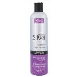Xpel Shimmer Of Silver 400 ml šampon pro šedivé a blond vlasy pro ženy