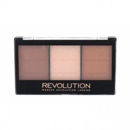 Makeup Revolution London Ultra Sculpt & Contour Kit 11 g bronzer pro ženy C04 Ultra Light/Medium