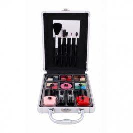 2K Complete Beauty Train Case 27 g dárková kazeta dárková sada pro ženy Complete Makeup Palette