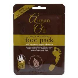 Xpel Argan Oil Deep Moisturising Foot Pack 1 ks hydratační maska na nohy pro ženy