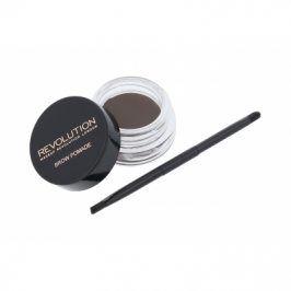 Makeup Revolution London Brow Pomade 2,5 g pomáda na obočí pro ženy Ash Brown