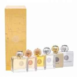 Amouage Mini Set Classic Collection dárková kazeta pro ženy 6x 7,5 ml edp Gold + Dia + Ciel + Reflection + Jubilation XXV + Beloved