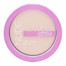 Gabriella Salvete Nude Powder SPF15 8 g kompaktní pudr pro ženy 01 Pure Nude