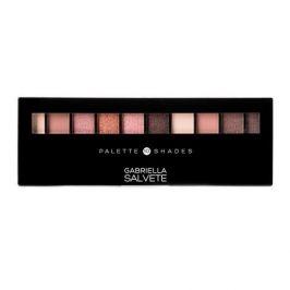 Gabriella Salvete Palette 10 Shades 12 g paletka očních stínů pro ženy 01 Rose