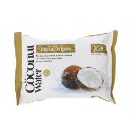 Xpel Coconut Water Hydrating Facial Wipes 25 ks čisticí ubrousky pro ženy