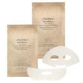 Shiseido Benefiance Pure Retinol 4 ks pleťová maska proti vráskám pro ženy