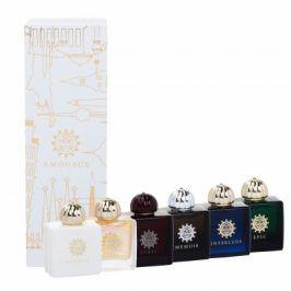 Amouage Mini Set Modern Collection 45 ml dárková kazeta dárková sada pro ženy 6x 7,5 ml edp Lyric + Epic + Memoir + Honour + Interlude + Fate