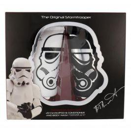 Star Wars Stormtrooper 150 ml dárková kazeta dárková sada šampon 2 v 1 150 ml + sprchový gel 150 ml