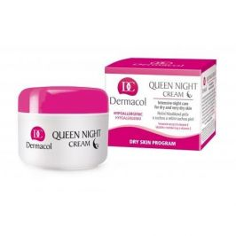 Dermacol Queen 50 ml noční pleťový krém proti vráskám pro ženy