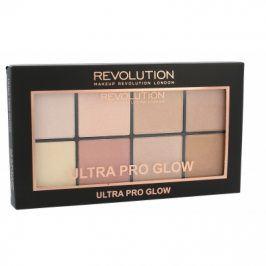 Makeup Revolution London Ultra Pro Glow 20 g paletka pro rozjasnění pleti pro ženy