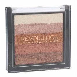 Makeup Revolution London Shimmer Brick 7 g rozjasňovač pro ženy Rose Gold