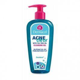 Dermacol AcneClear Cleansing Gel 200 ml odličovací gel pro problematickou pleť pro ženy
