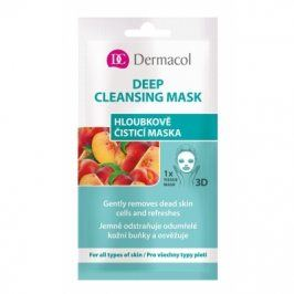 Dermacol Deep Cleansing Mask 15 ml pleťová maska pro ženy