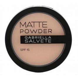 Gabriella Salvete Matte Powder SPF15 8 g pudr pro ženy 01