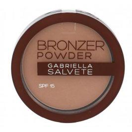 Gabriella Salvete Bronzer Powder SPF15 8 g pudr pro ženy 01