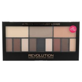 Makeup Revolution London Ultra Eye Contour Light & Shade 14 g konturovací paletka na oči pro ženy